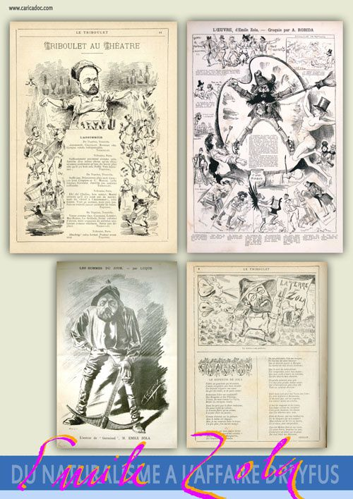 Emile Zola, du naturalisme à l'Affaire Dreyfus : exposition itinérante à louer (imprimer)