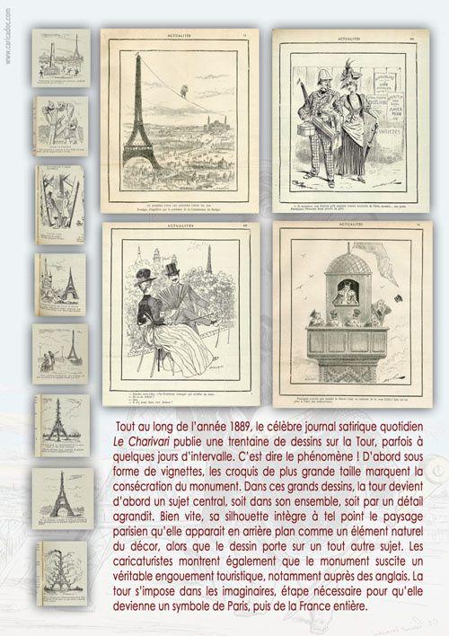 La Tour Eiffel vue par le dessin de presse : exposition itinérante à louer (imprimer)