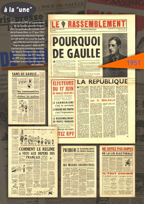 """Charles de Gaulle à la """"une"""", une exposition itinérante à louer"""