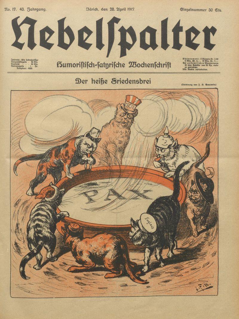 "Le Nebelspalter suisse, une ""institution nationale"" : interview de Laurence Danguy"