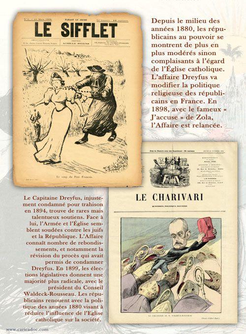 1789-1905, la Séparation des Églises et de l'État : exposition itinérante à imprimer
