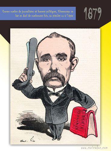 Georges Clemenceau [caricatures] : exposition itinérante à louer / à imprimer