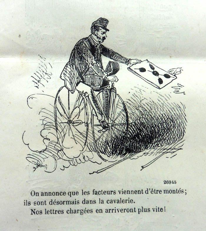 Je vélocipède… tu vélocipèdes... il vélocipède..., cocasserie vélocipédique de Daniel Dugne