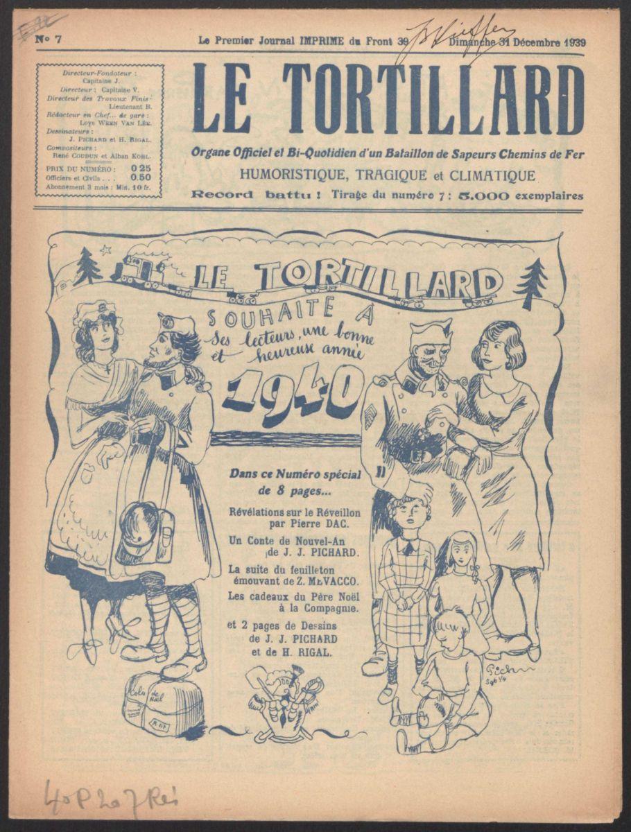 1939-1940 : des journaux du front méconnus