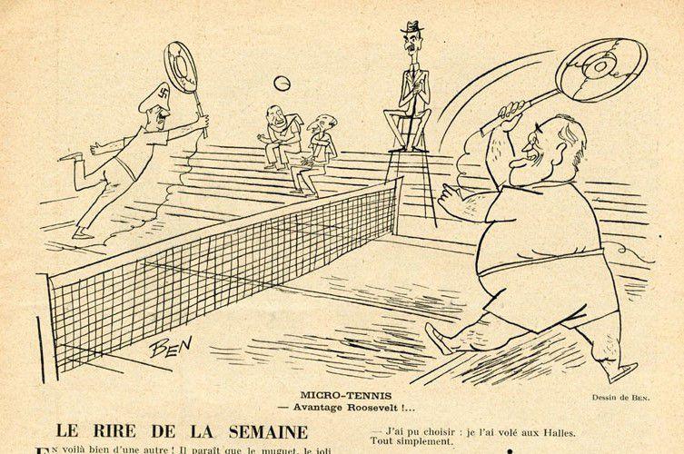 CARICATURES DE HITLER, Hitler caricaturé Karikatur Cartoons