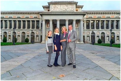 Visita ufficiale delle LL.AA.RR. i Duchi di Castro a Madrid