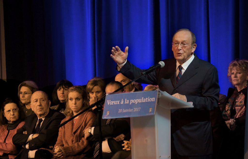 Présentation des Vœux de M. Jean-Claude Guibal, député-maire de Menton