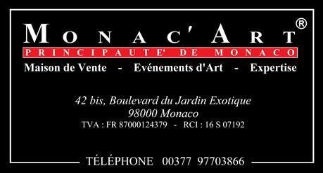 MONAC`ART: Primo progetto di Casa d`aste online nel Principato di Monaco