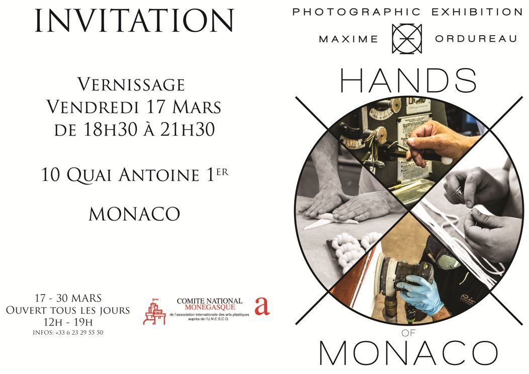 "MONACO ART: ""Hands of Monaco"""
