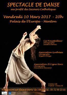 Menton: Palais de l'Europe – théâtre Francis Palmero:SPECTACLE DE DANSE