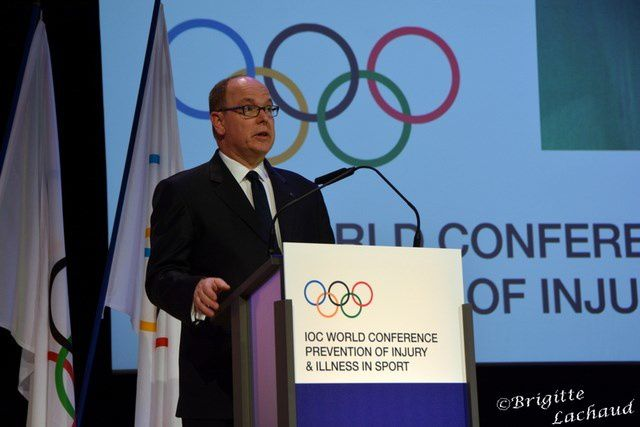 MONACO: IOC WORLD CONFERENCE PREVENTION OF INJURY & ILLNESS IN SPORT