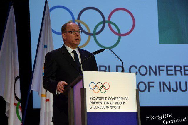 MONACO: IOC WORLD CONFERENCE PREVENTION OF INJURY & ILLNESS IN SPORT