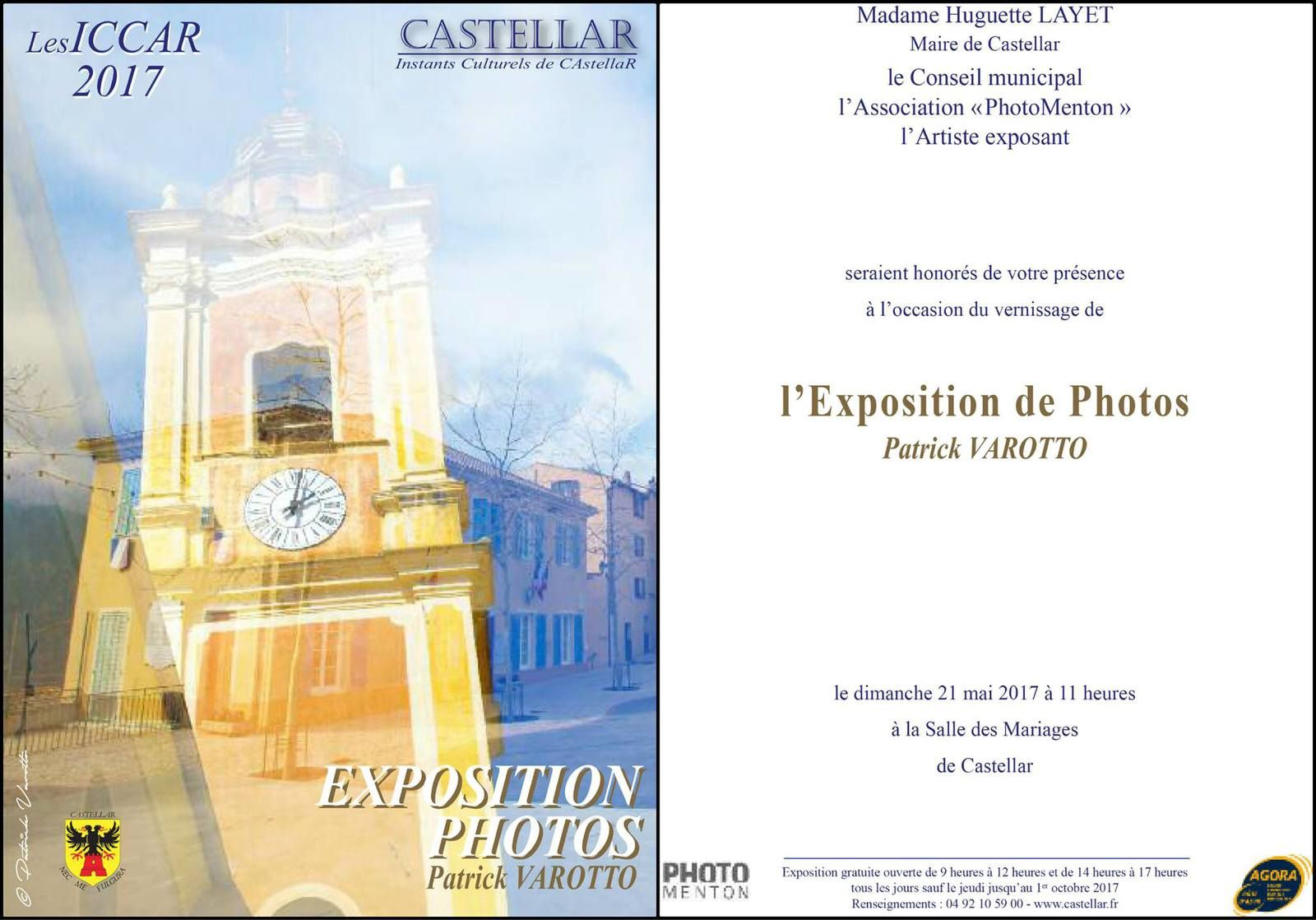 PATRICK VAROTTO : EXPOSITION PHOTOS A`CASTELLAR