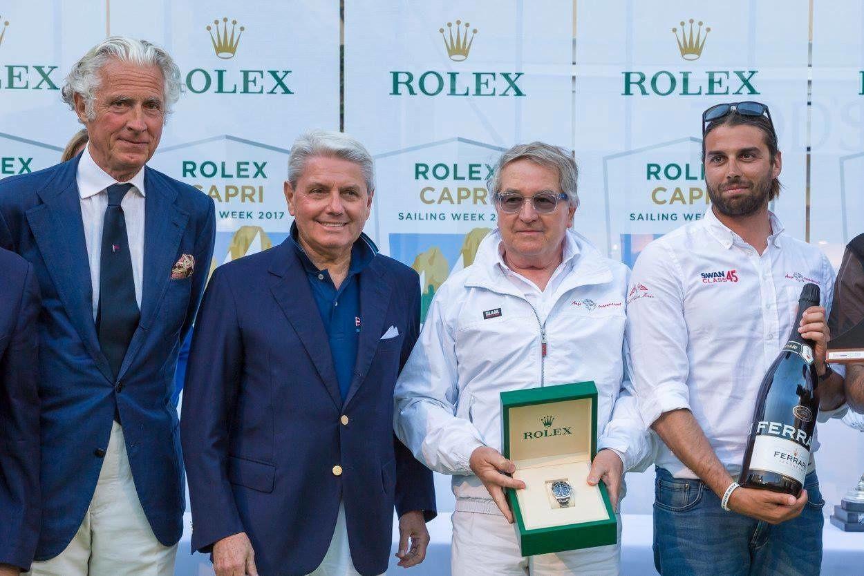 "Va a ""Ange Transparent II"" – Yacht Club de Monaco – dell`armatore Valter Pizzolini, la Rolex Capri Sailing Week"