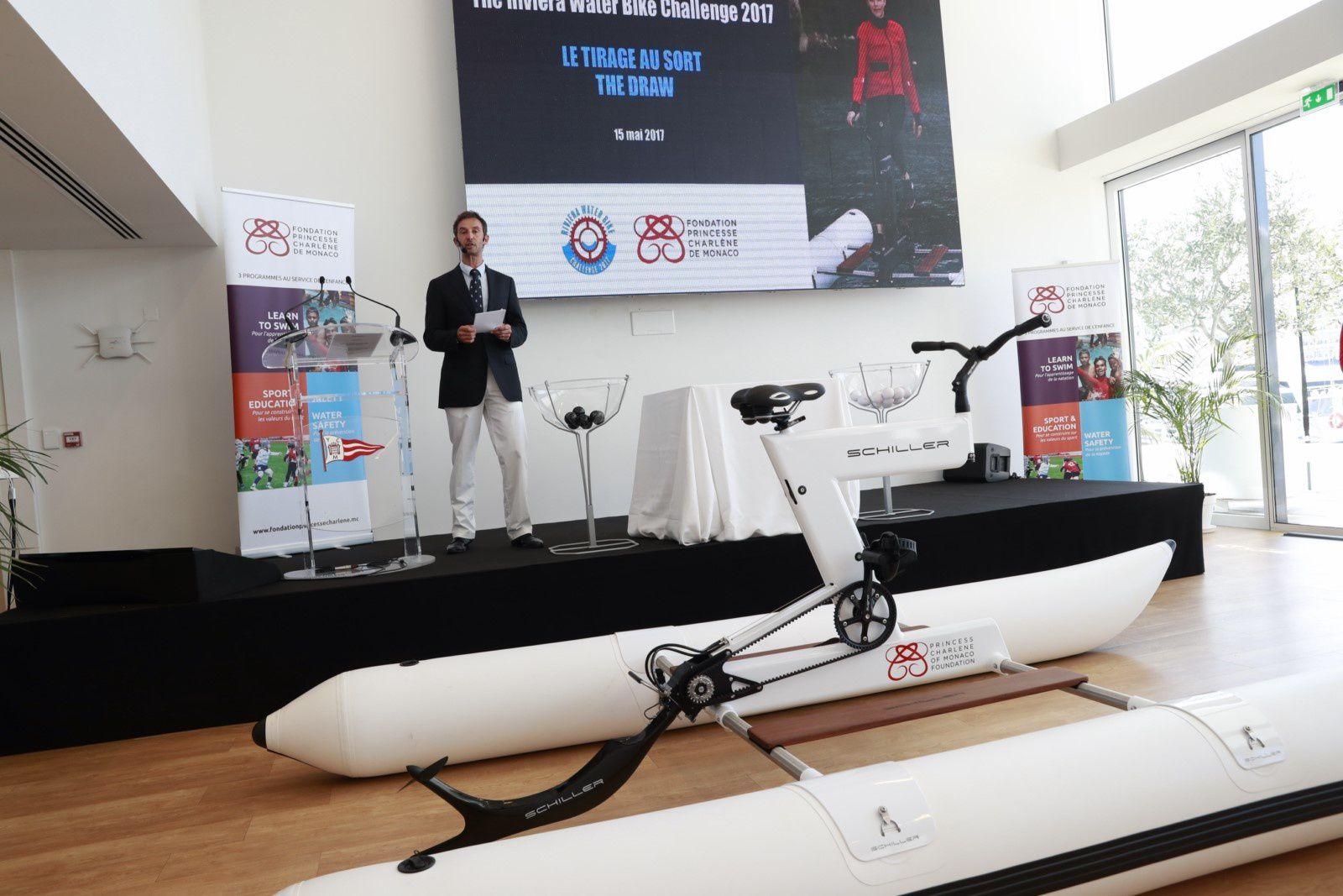 Monaco:« Riviera Water Bike Challenge » - Tirage au sort des équipe