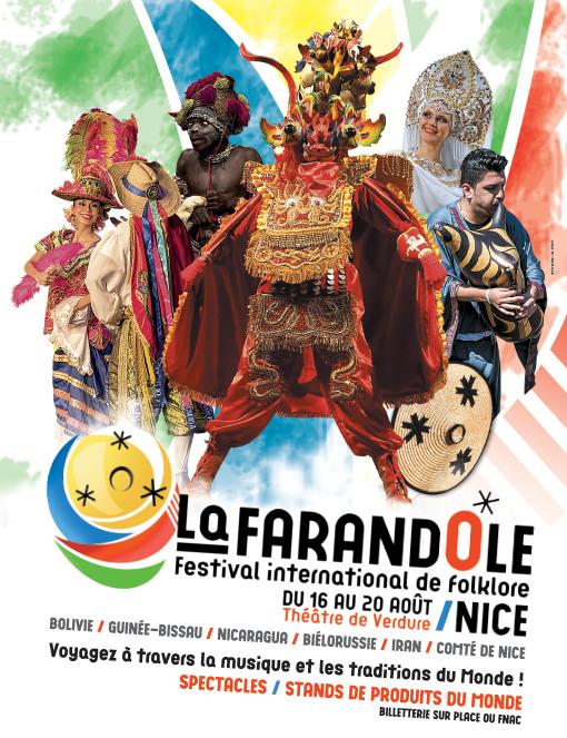 Festival International de Folklore de Nice «La Farandole»  16 – 20 août 2017