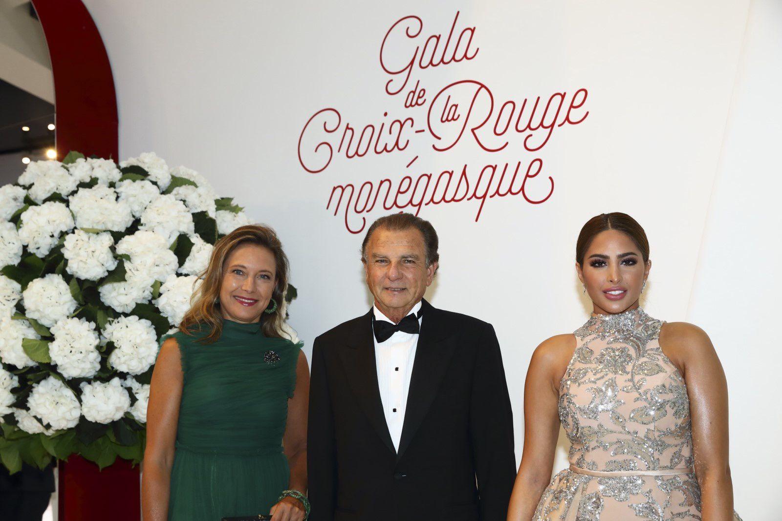 MONACO:  GALA DE LA CROIX ROUGE MONEGASQUE