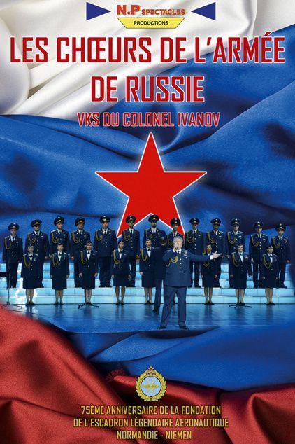 MENTON: LES CHOEURS DE L'ARMEE DE RUSSIE