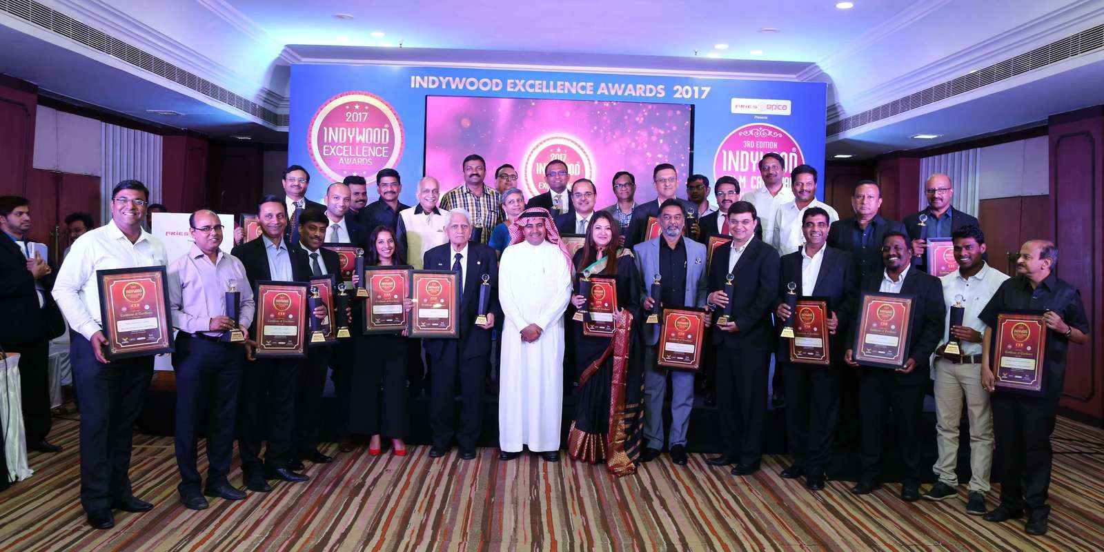 Cinema: Indywood CSR Excellence Awards 2017 successfully concluded at Hyderabad
