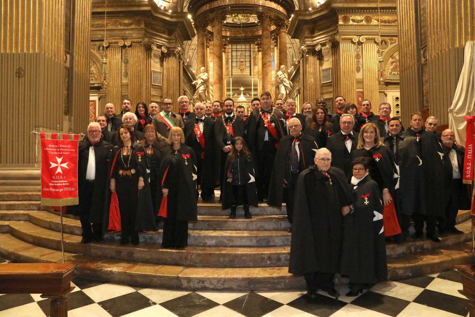 :Sovrano Ordine di San Giovanni di Gerusalemme:La Cerimonia delle Investiture di Cavalieri e Dame.