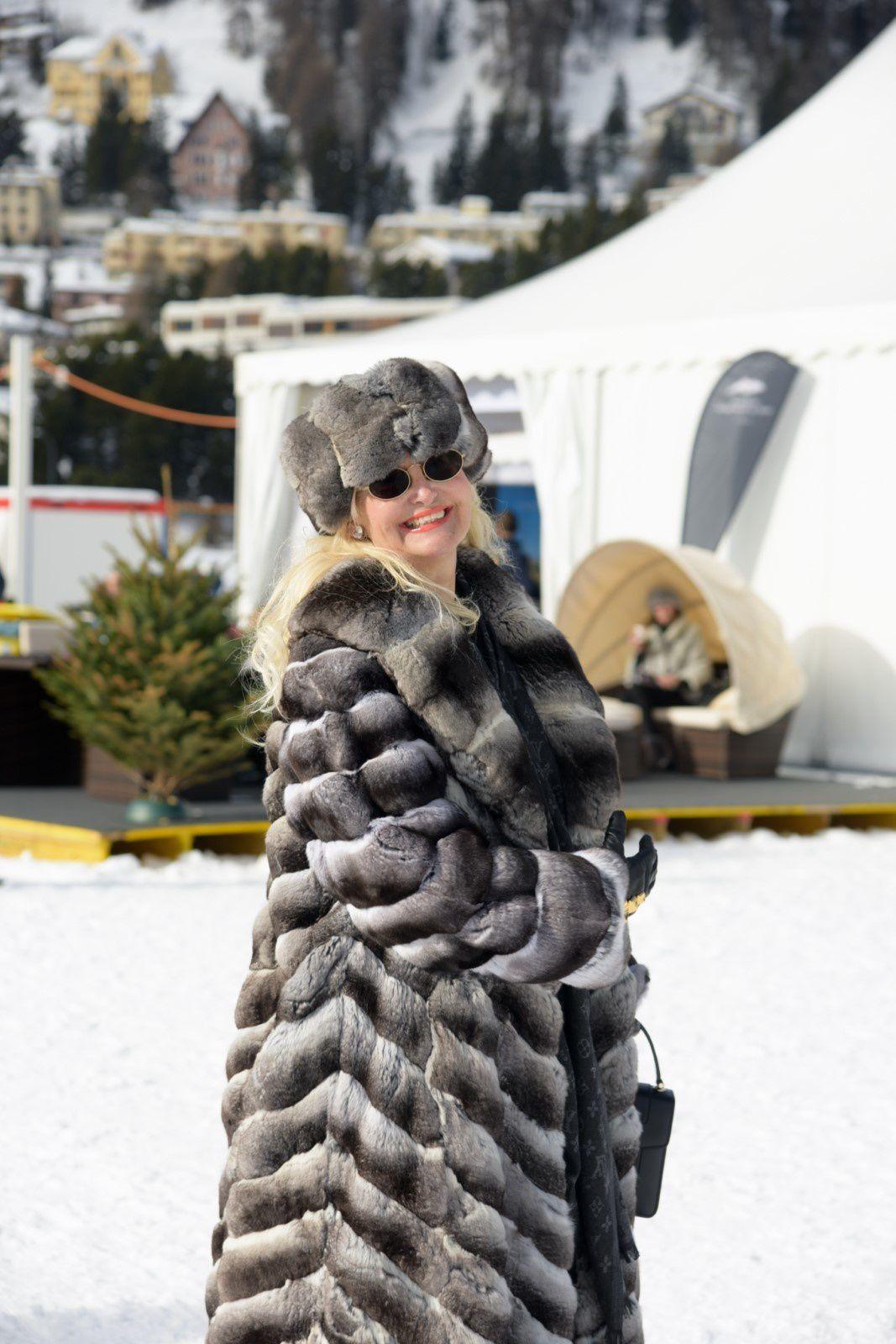 ST.MORITZ 2018: NEIGE, SPORTS, GLAMOUR, TOP OF THE WORLD AVEC LA MARQUISE ROBERTA GILARDI
