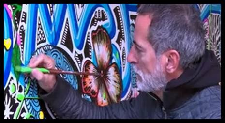 NICE : ART URBAIN AU FIL DU TRAM AVEC JEAN-ANTOINE HIERRO