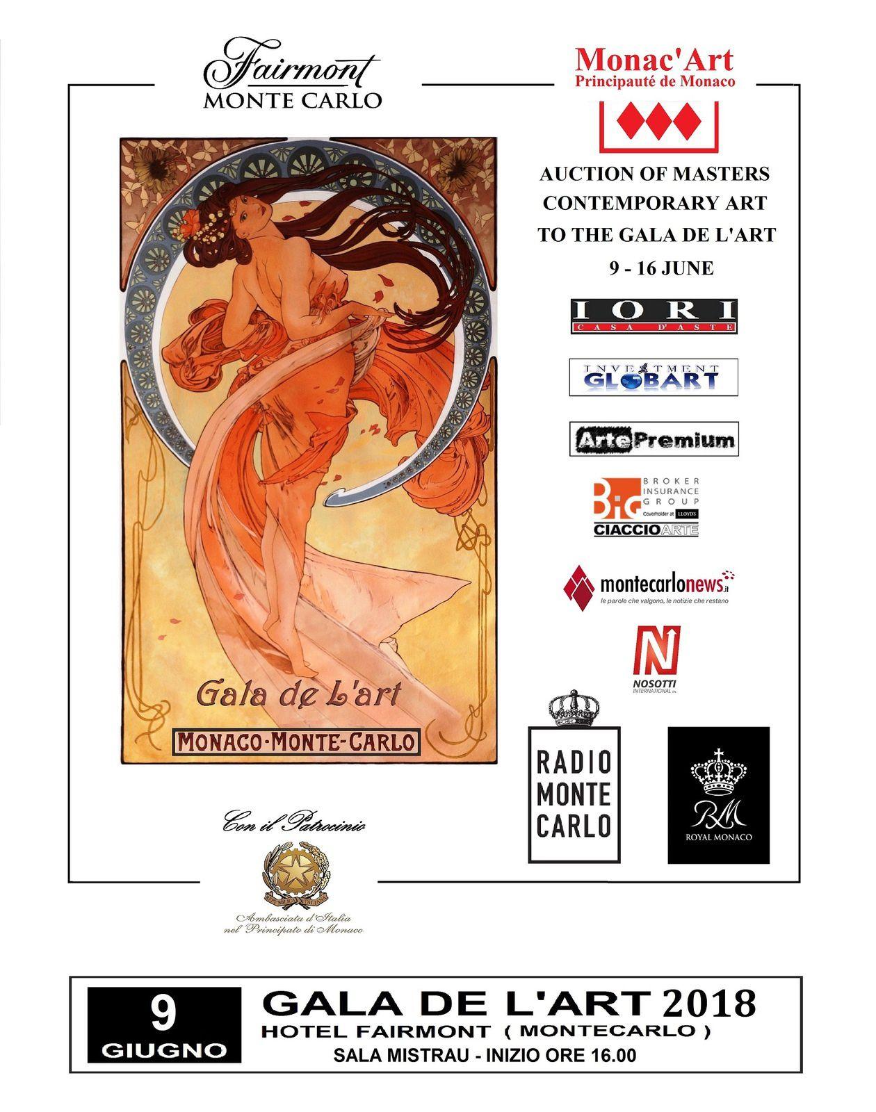 Monte-Carlo Gala de l'Art 2018