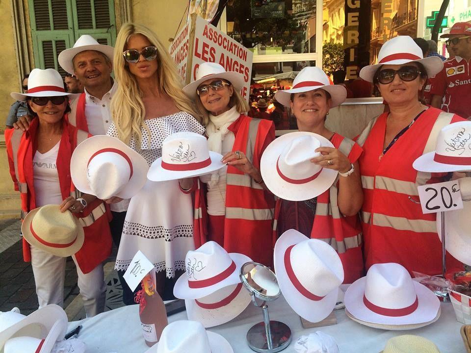 Les Panamas L'Angelino des Anges Gardiens de Monaco en vente au Grand Prix de Monaco