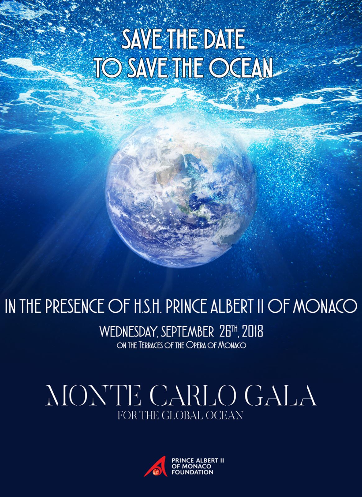 THE MONTE-CARLO GALA  FOR THE GLOBAL OCEAN 2018