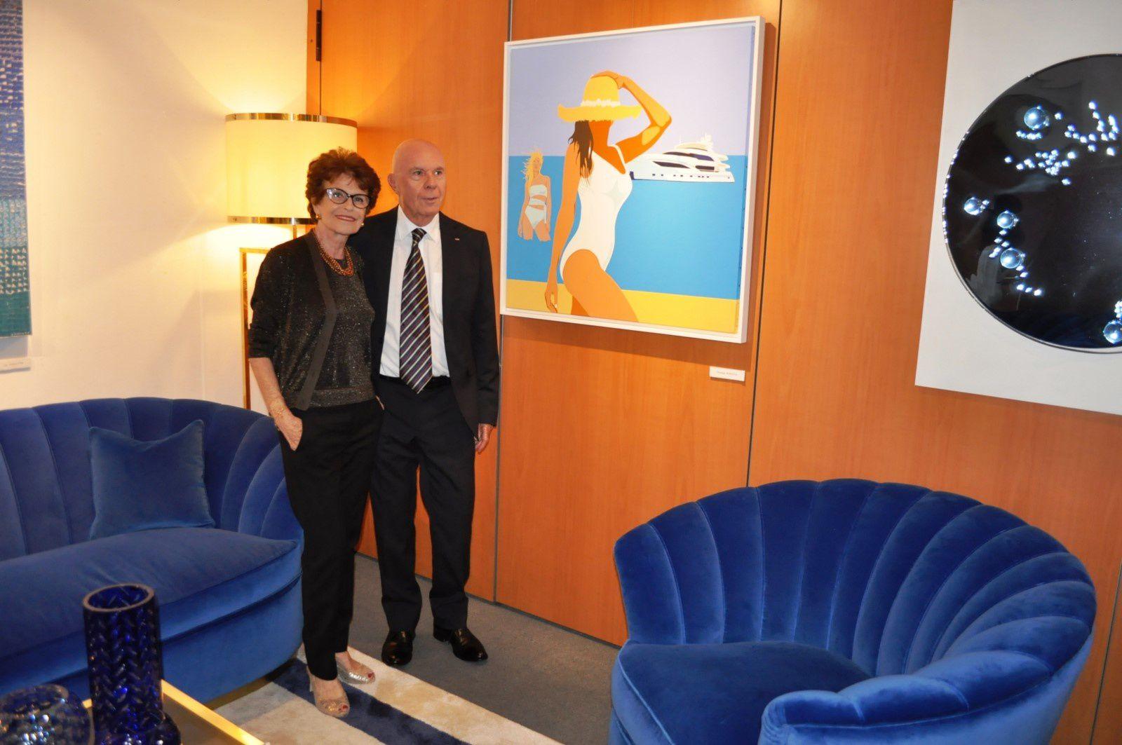I Colori del Mare nell'Arte e nel Design da Yacht al Monaco Yacht Show