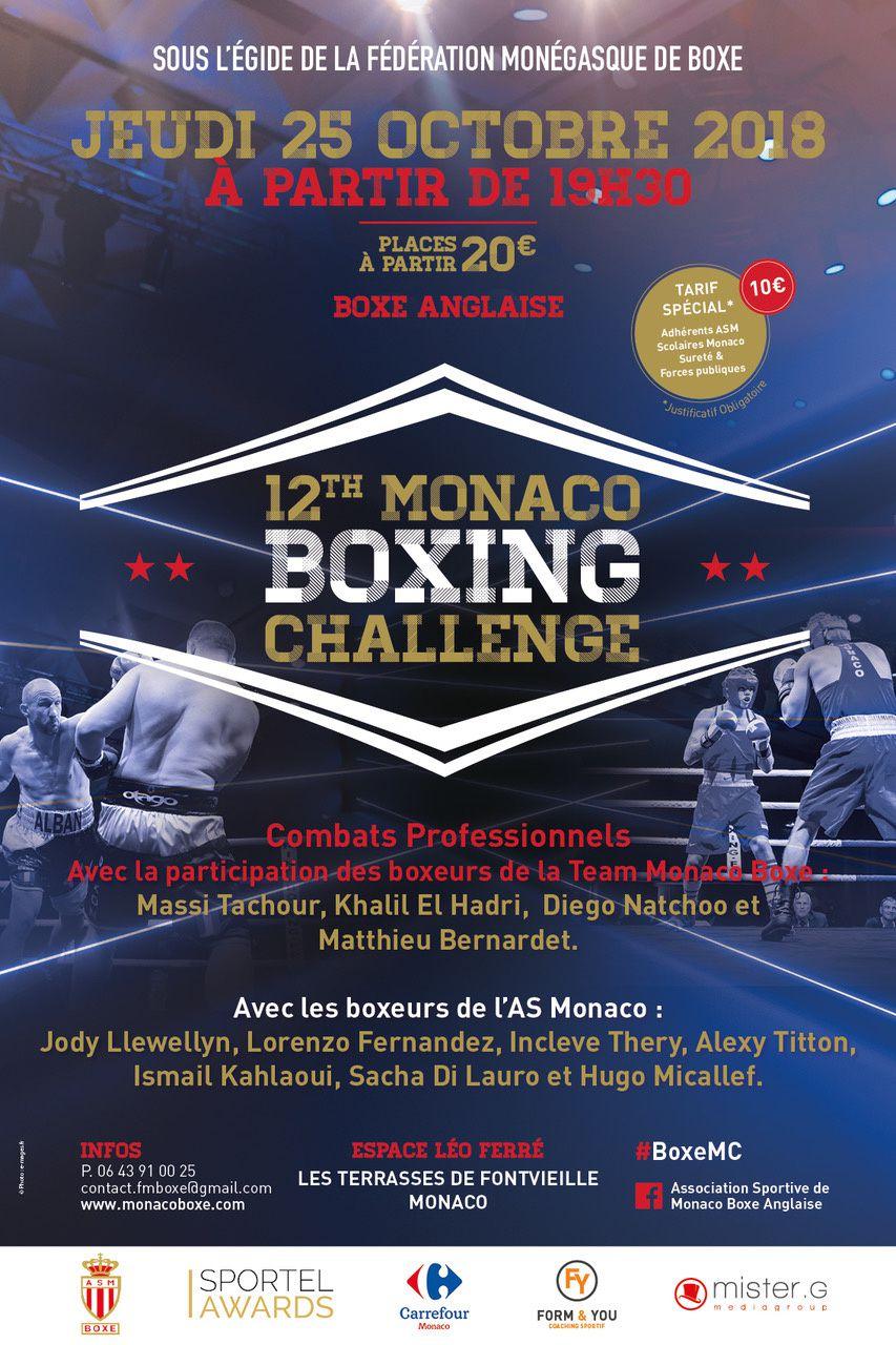 12ème MONACO BOXING CHALLENGE