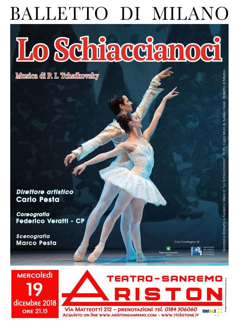 ARISTON SANREMO /BALLETTO: LO SCHIACCIANOCI