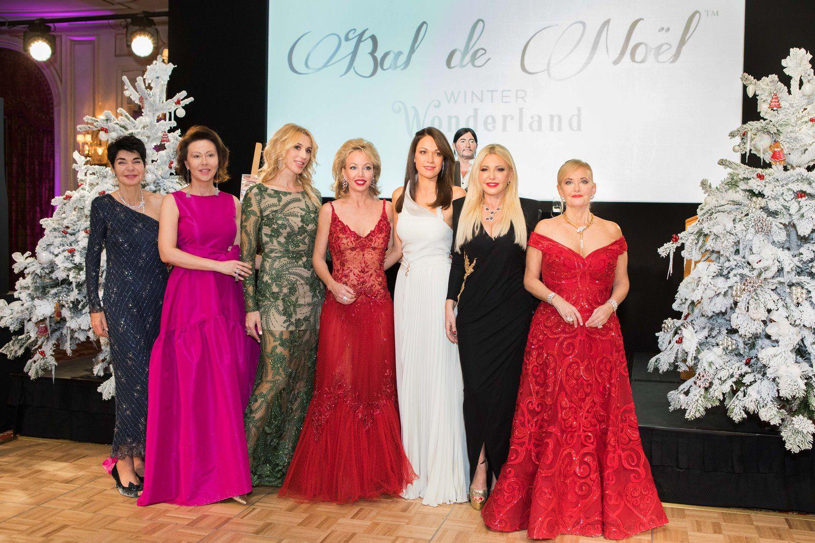Monte-Carlo: Bal de Noël de la Four Stars Event