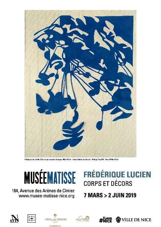 NICE MUSEE MATISSE : EXPOSITION  /  Frédérique Lucien, corps et décors  7 mars–2 juin 2019