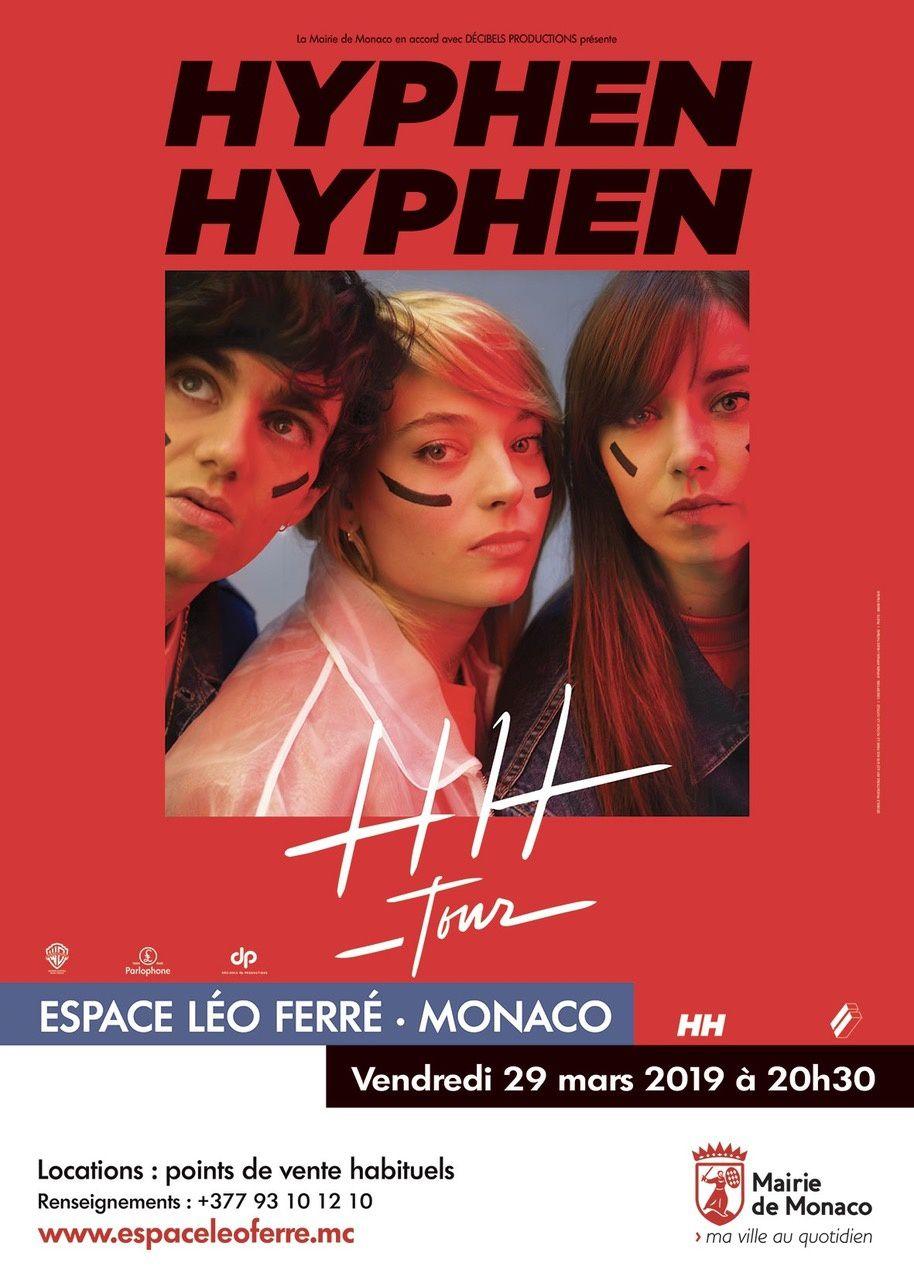 Monaco: Hyphen Hyphen en concert Vendredi 29 mars à 20h30 – Espace Léo Ferré