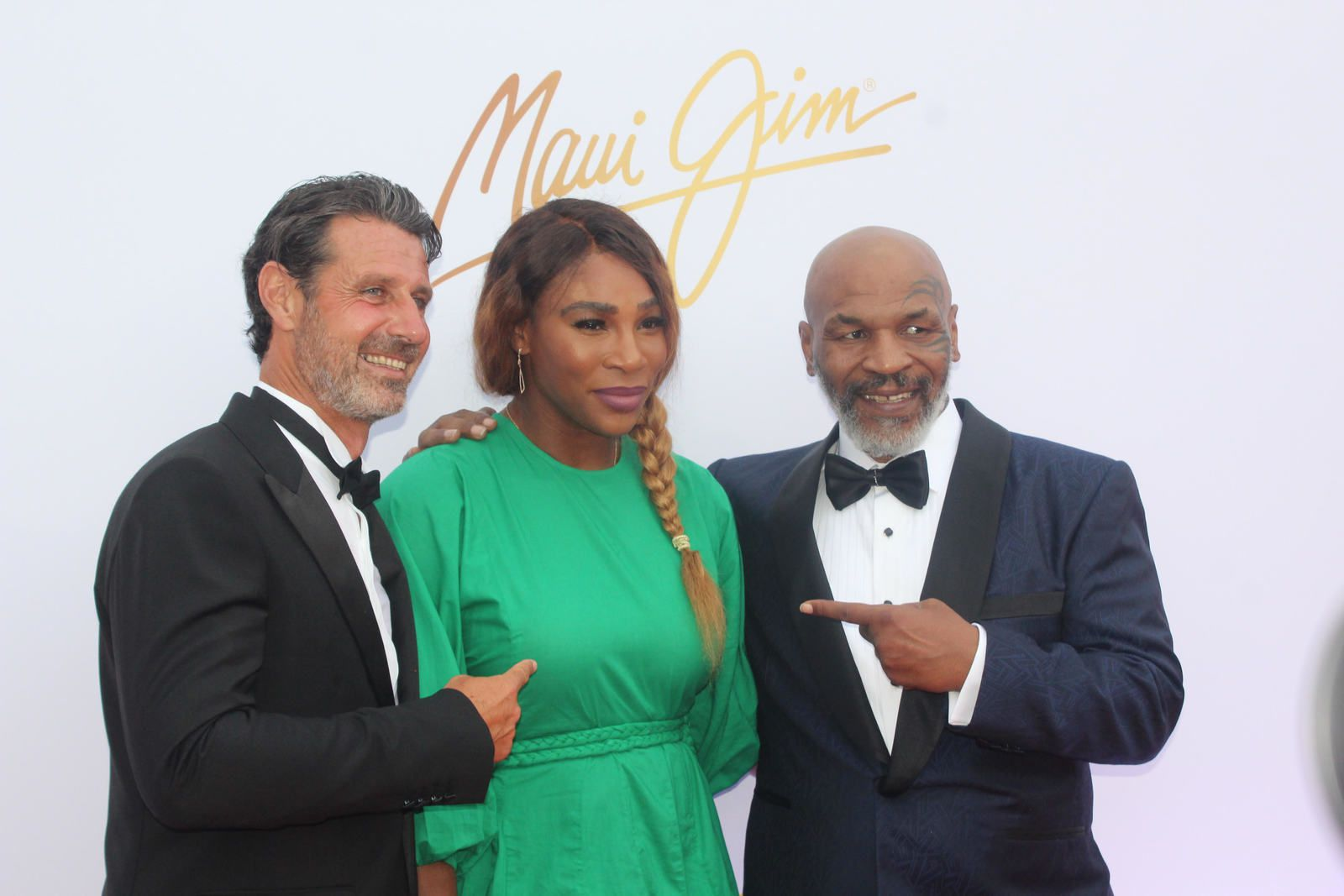 SERENA WILLIAMS ENTRE MOURATOGLOU ET MIKE TYSON