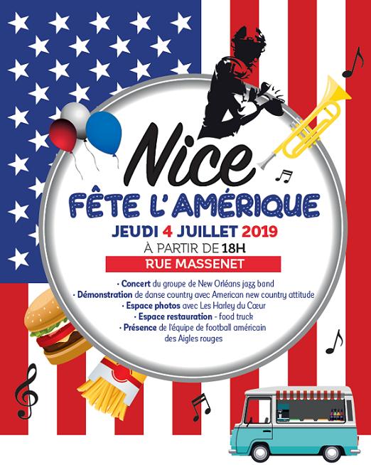 nICE/ Fête Nationale américaine