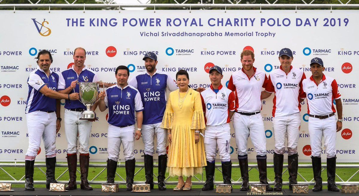 U.K. - JOURNEE POLO DE BIENFAISANCE – Trophée Polo Khun Vichai Srivaddhanaprabha