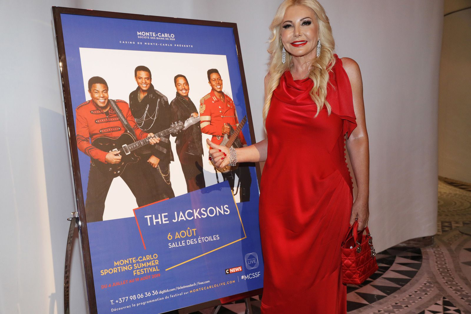 "Monte Carlo Sporting Summer Festival - Hall of Stars con ""The Jacksons"""
