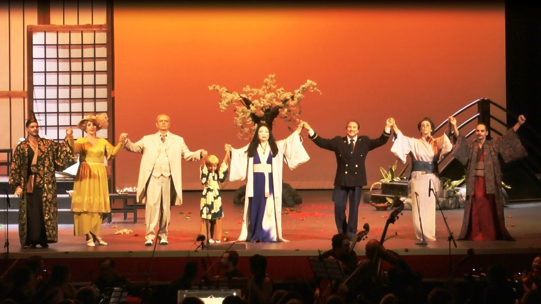 MADAME BUTTERFLY: GRANDE SUCCESSO ALL'ARISTON DI SANREMO