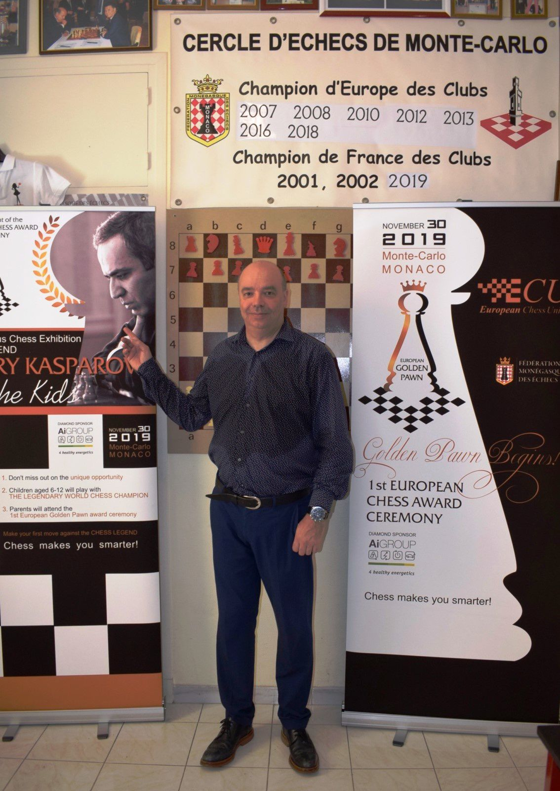 EUROPEAN CHESS WORLD WILL BE HELD IN THE PRINCIPALITY OF MONACO;