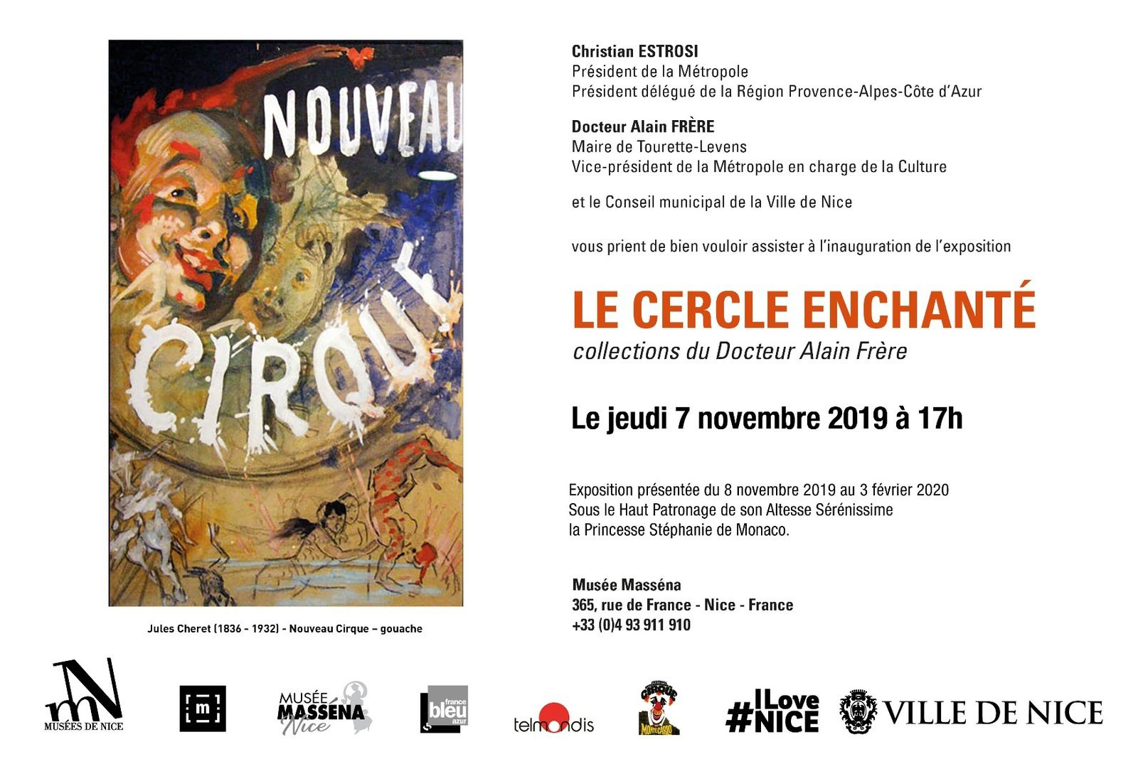 Vernissage de l'exposition Le Cercle Enchanté