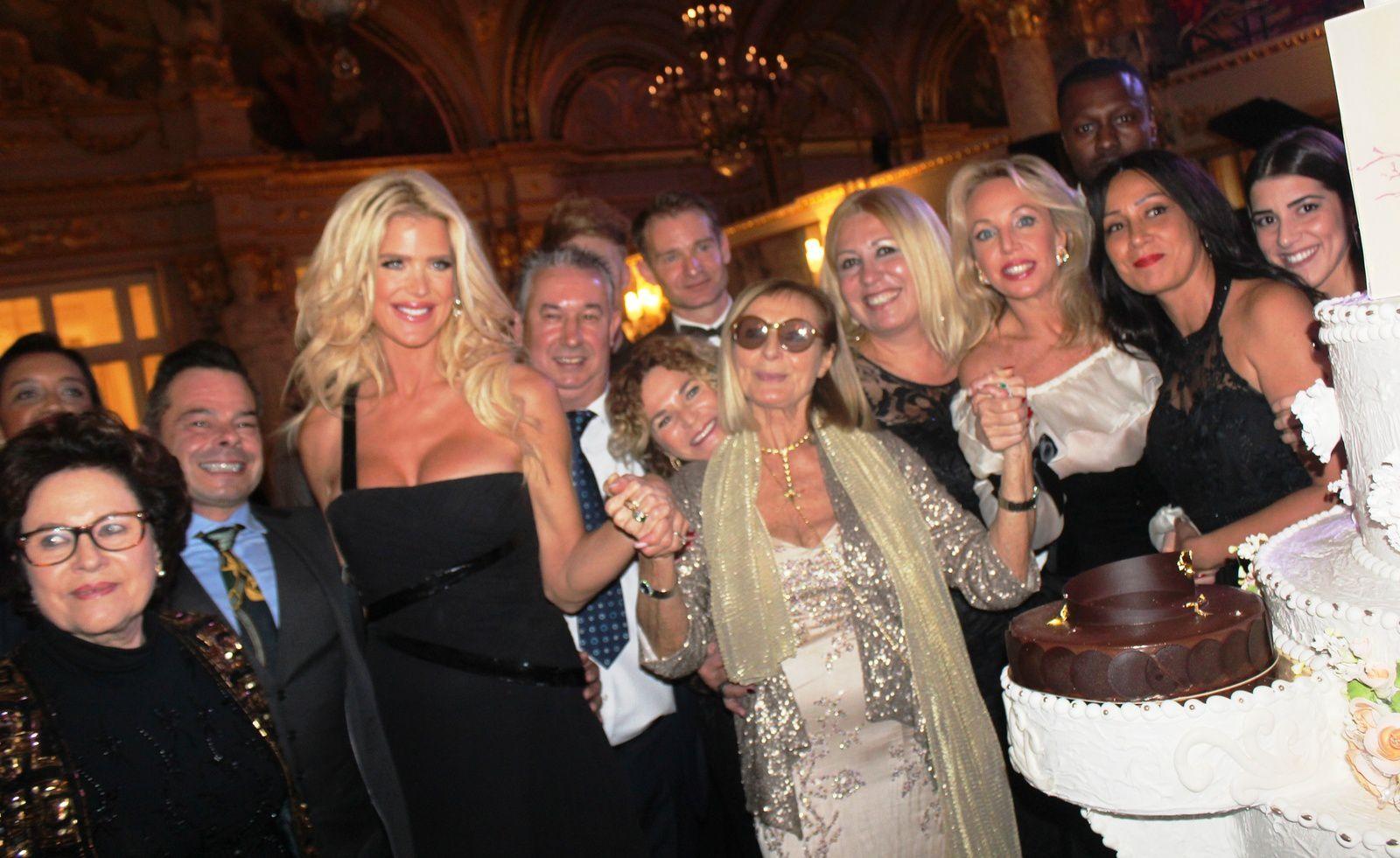 Soirée de Gala à l'Hôtel de Paris des Anges Gardiens de Monaco