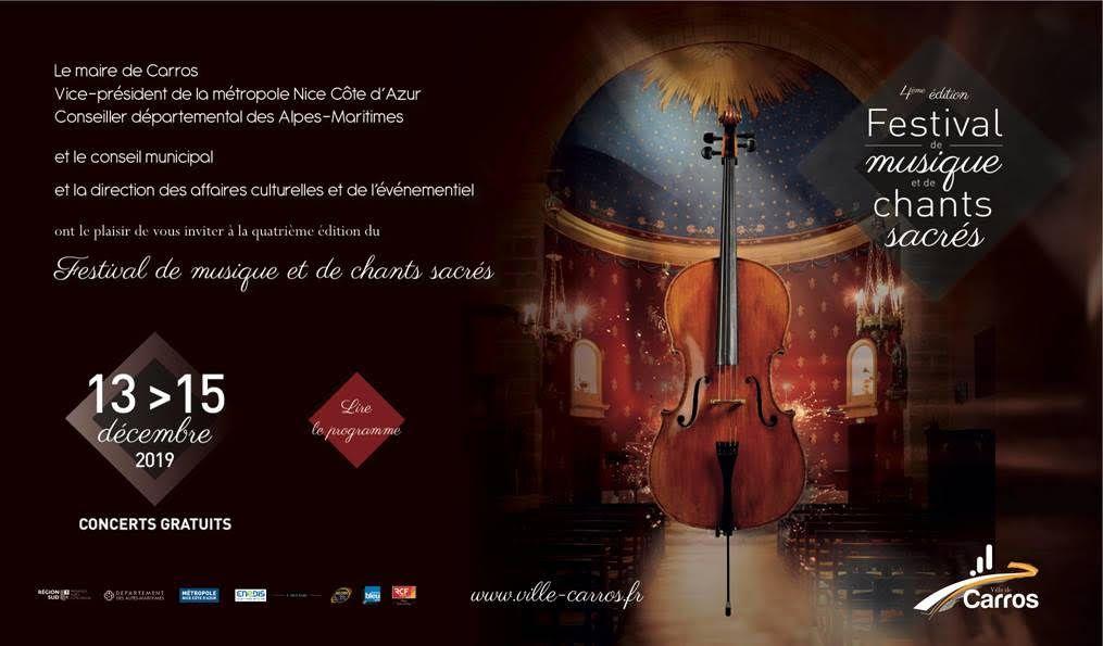 4ème édition du Festival du musique et de chants sacrés