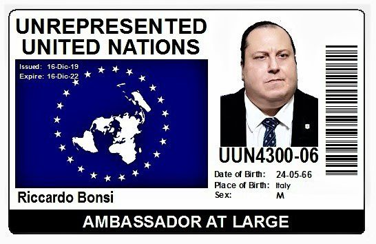 Nazione Templare: Riccardo Bonsi nominato Ambasciatore at Large dell'Unrepresented United Nations – UUN