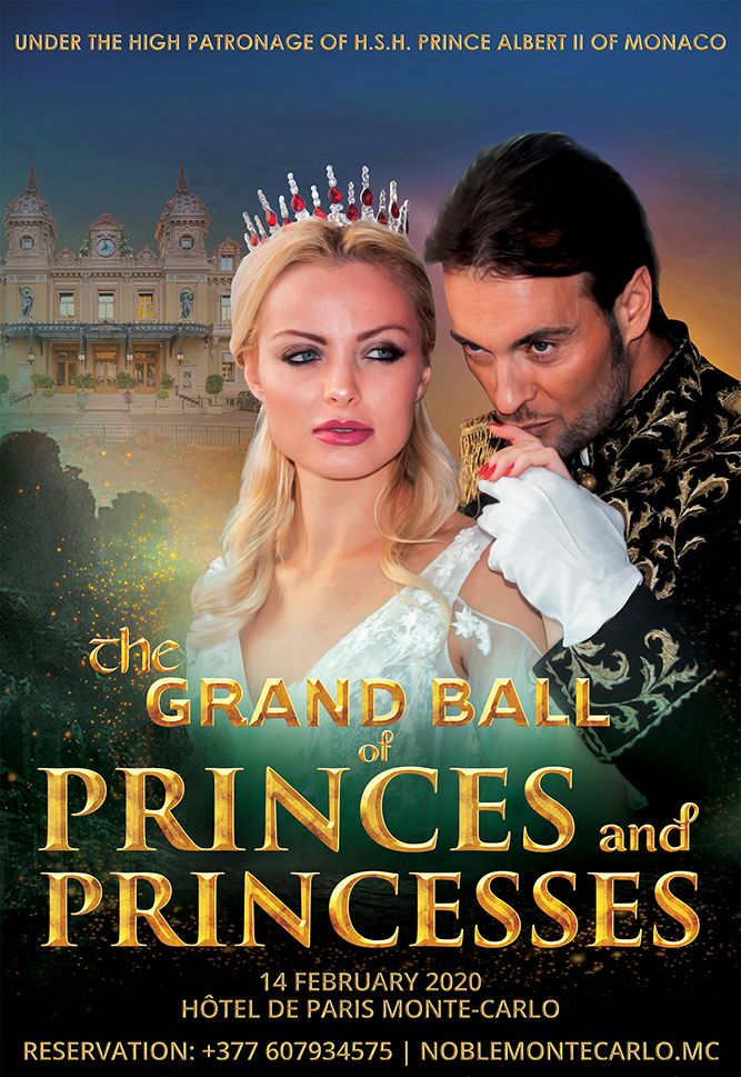 THE GRAND BALL OF PRINCES AND PRINCESSES