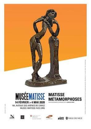 Nice : Exposition  - Matisse Métamorphoses  14 février – 4 mai 2020