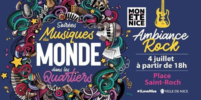 NICE: Soirées Musiques du Monde dans les quartiers