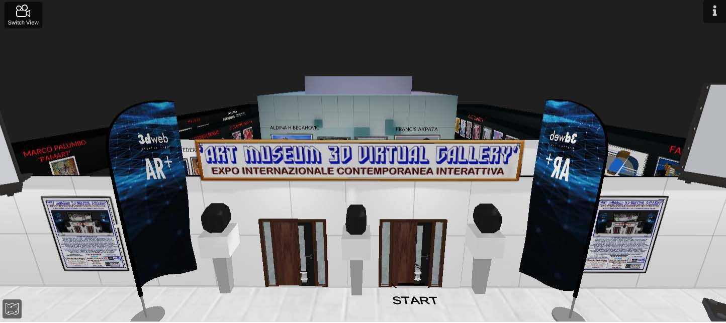 ART 3 D MUSEUM VIRTUAL GALLERY  EXPO CONTEMPORANEA INTERNAZIONALE INTERATTIVA