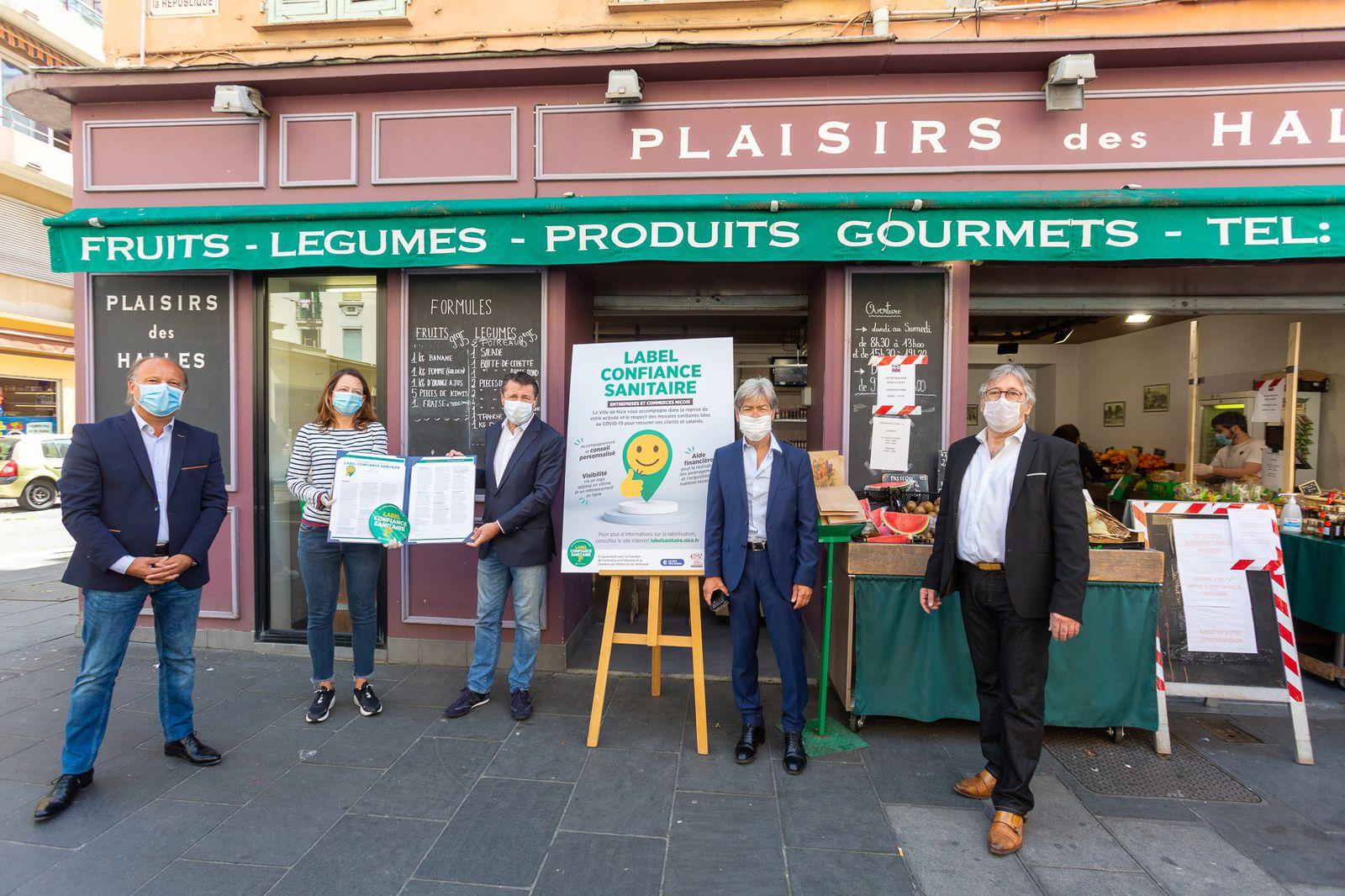 Port du masque obligatoire dans certains secteurs de Nice demandé au Préfet par Christian Estrosi